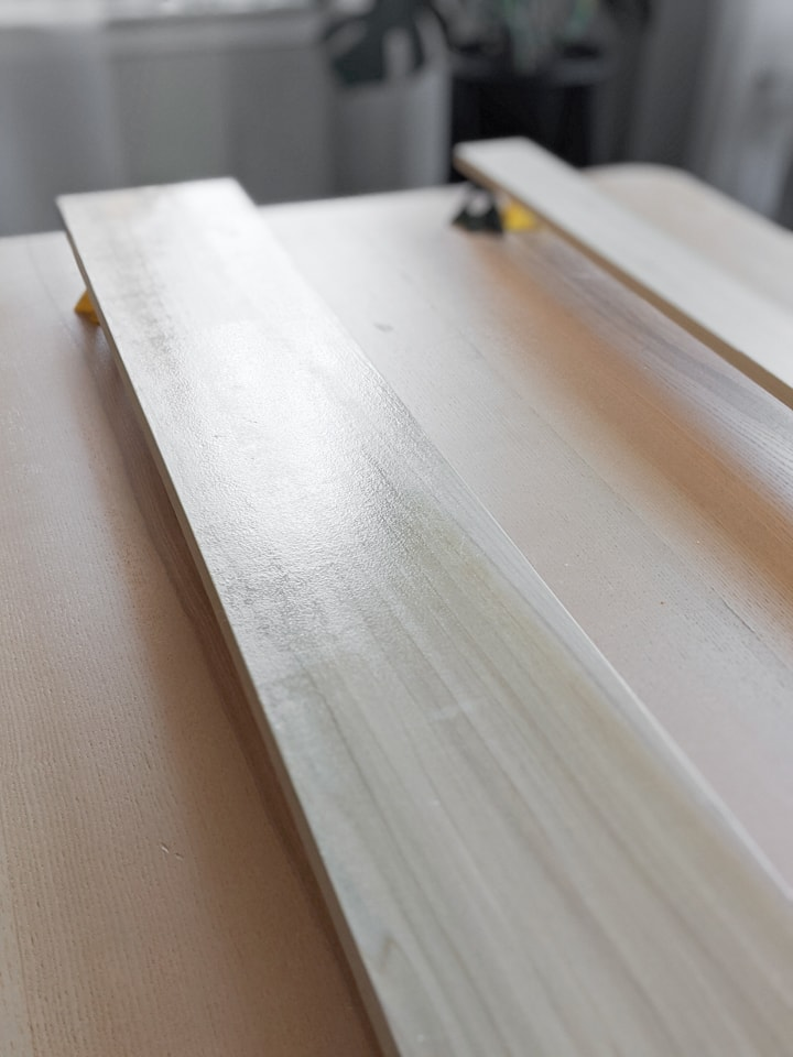 finishing poplar with water-based polyurethane