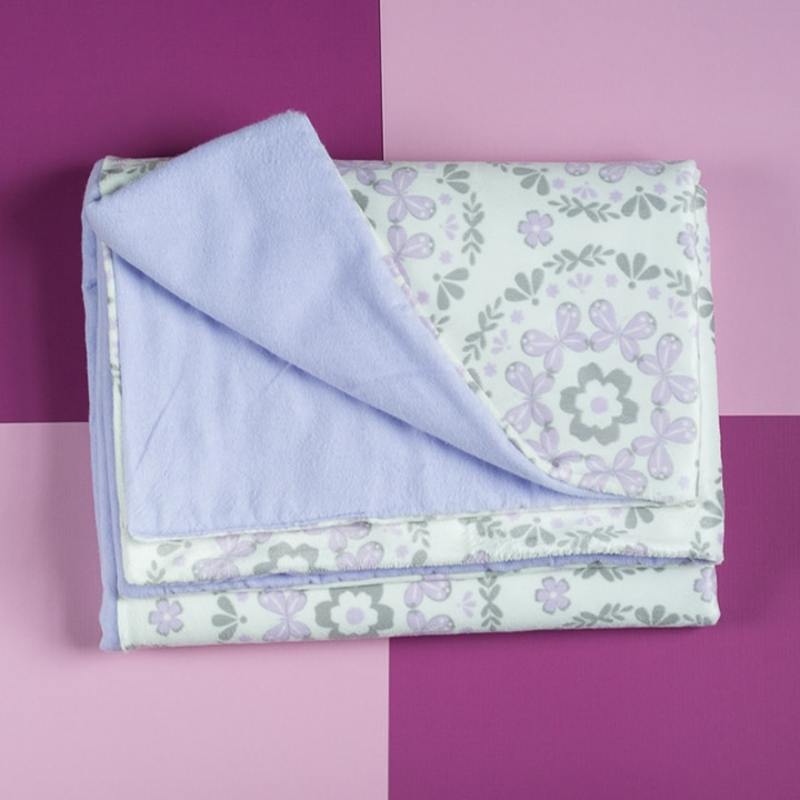 easy to sew beginner baby blanket project