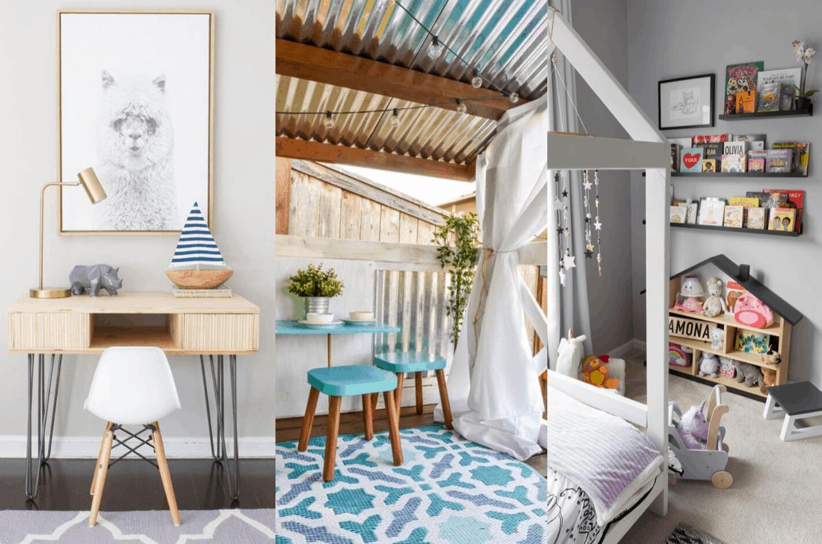 DIY furniture ideas for kids
