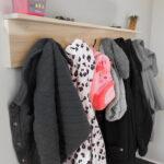DIY Wall-Mounted Coat Rack
