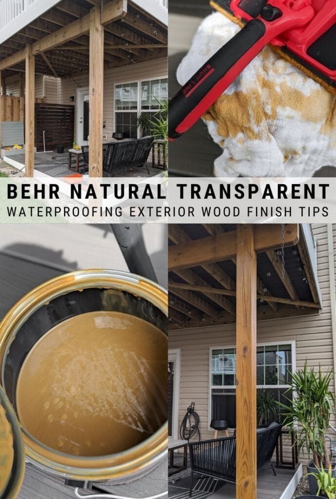 behr transparent deck stain review