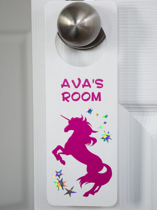 DIY Door Knob Hanger