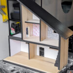 DIY Modern Wooden Dollhouse—Free Plans!