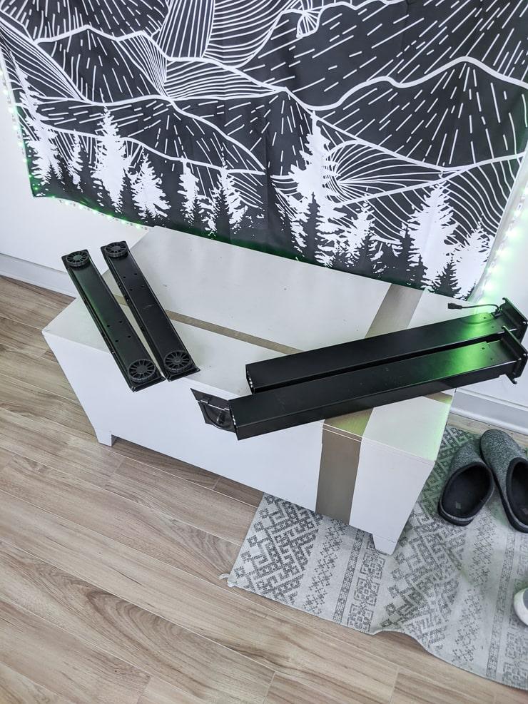 standing desk legs