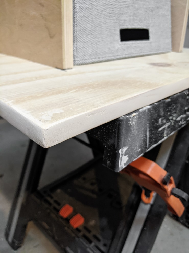 using wood filler to finish plywood edges for painting