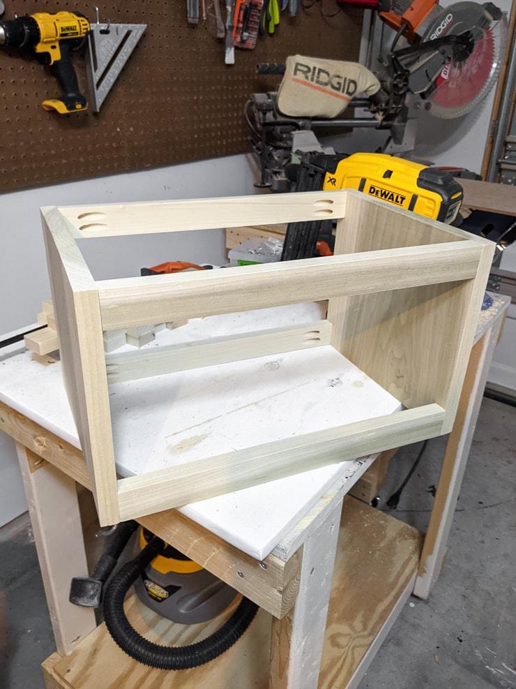 building the crib