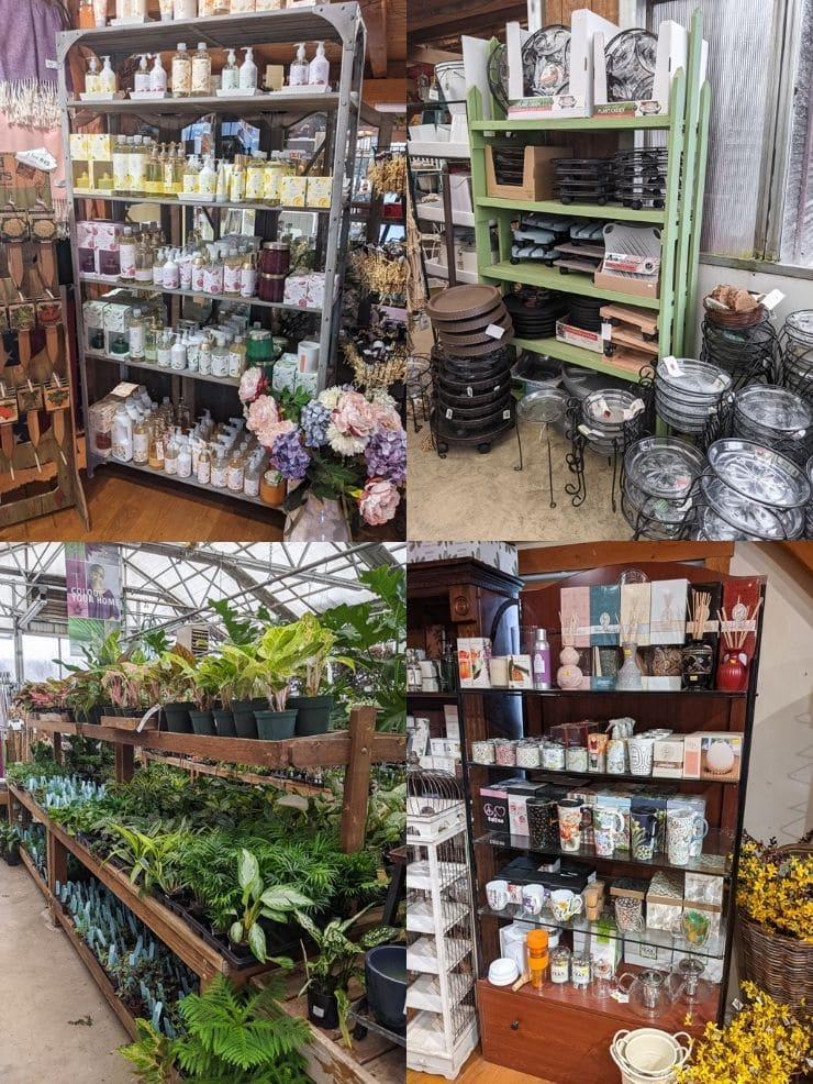pictures of displays at D.R. Snell nursery
