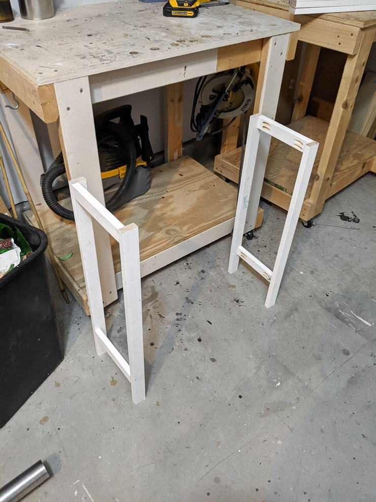 side legs for the plant stand